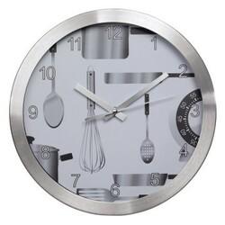 Kuchyňské nástěnné hodiny, tichý chod