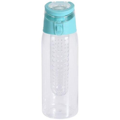 Športová plastová fľaša Lena 650 ml, zelená