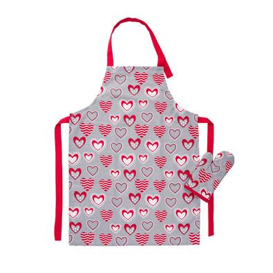 Detská kuchynská súprava Hearts