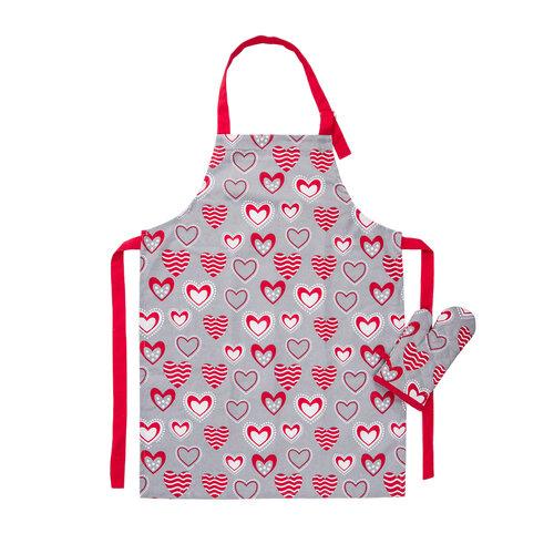 Dziecięcy zestaw kuchenny Hearts