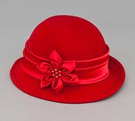 Dámský klobouk Karpet 1164, červený, 55 / 56