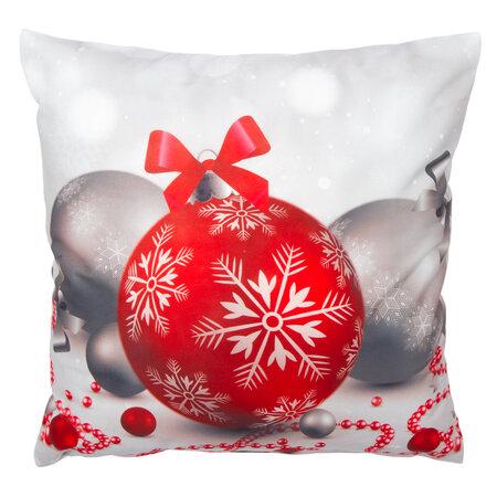 Faţă de pernă  Ornamente de crăciun, 40 x 40 cm