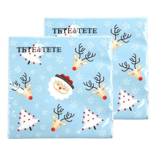 Șervețele de hârtie de Crăciun Altom Christmas, 33 x 33 cm, set 2 buc.