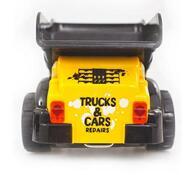 Stavební auto - Sklápěčka, Buddy Toys, černá + žlutá