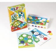 Didaktická hra Alfa 3, vícebarevná