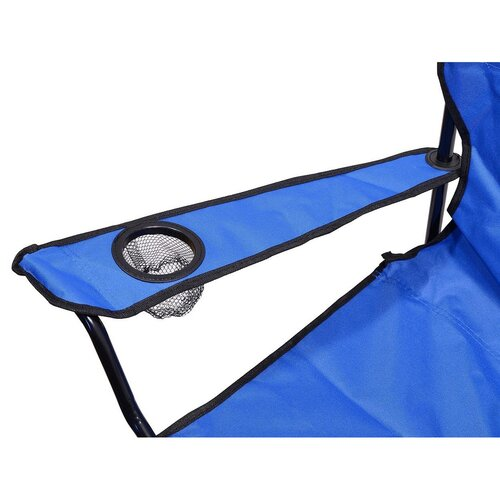 Cattara Kempingová skládací židle Bari, modrá