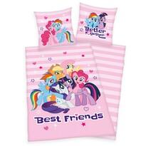 Lenjerie de pat Herding My Little Pony, din bumbac, pentru copii, 140 x 200 cm, 70 x 90 cm