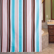 Sprchový závěs Pesaro Pruhy, 180 x 200 cm