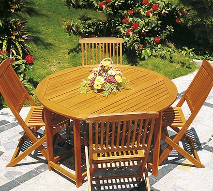 Stůl se 4 žildlemi