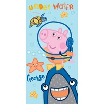 George Pig a búvár törölköző, 70 x 140 cm