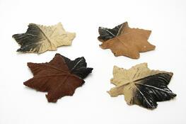 Carlo Milano Keramicka výzdoba javorové listy