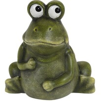 Dekorační žába Lessie, 14 cm