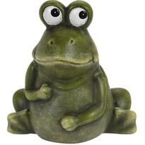 Koopman Dekoračná žaba Lessie, 14 cm