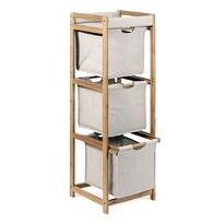 Regał bambusowy, 3 szuflady