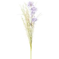 Flori de câmp artificiale 50 cm, mov