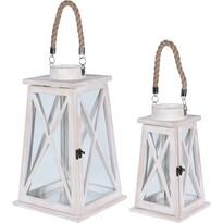 Koopman Sada drevených lampášov Kairouan, 2 ks