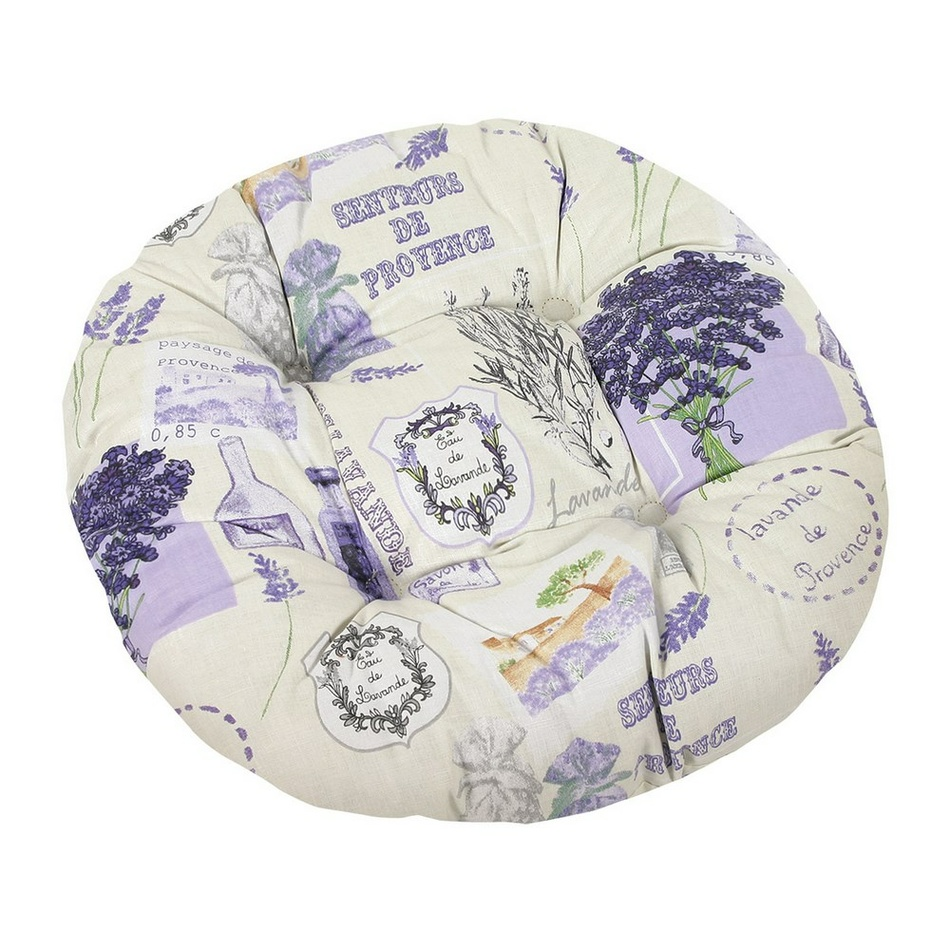 BELLATEX Sedák kulatý GITA prošívaný Provence 40 cm