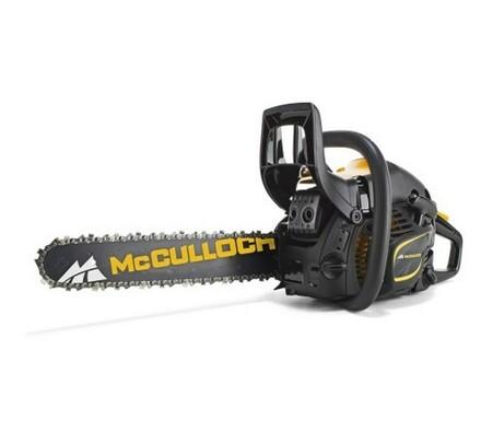 Benzínová řetězová pila McCulloch CS390 + řetěz, taška, rukavice