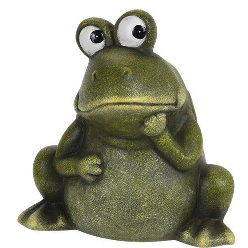 Koopman Dekorační žába Georgina, 14 cm