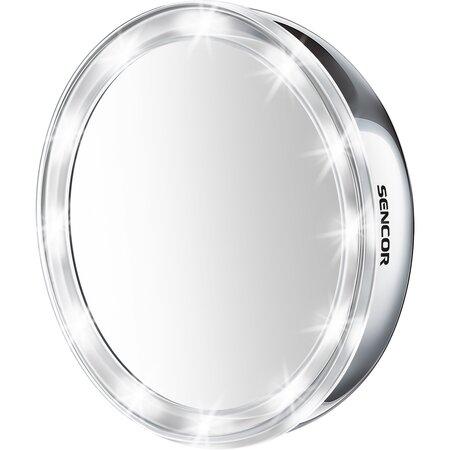 Sencor SMM 2030SS Kozmetikai tükör, átmérő 12,5 cm