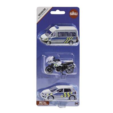 Siku Sada aut Policie, 3 ks