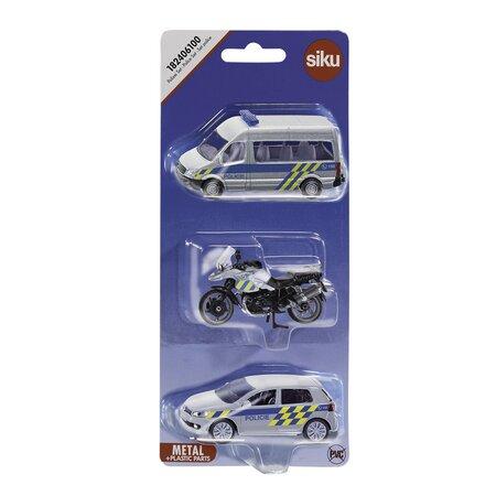 Siku Autós készlet Rendőrség, 3 db-os