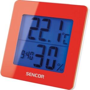 Sencor SWS 1500 RD Teploměr s hodinami