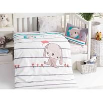 Dziecięca pościel bawełniana do łóżeczka Sweety, 100 x 135 cm, 40 x 60 cm