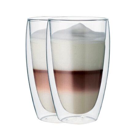 "Set pahare termo, Maxxo ""Cafe Latte"" 380 ml"