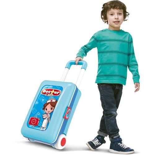 Buddy Toys BGP 3014 Detský kufor Deluxe doktor, 13 ks