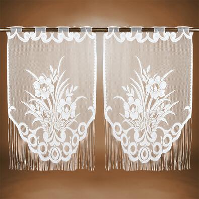 Záclona Maille, 90 x 60 cm, sada 2 ks
