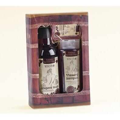 Dárkové balení kosmetiky z vinné révy Wine Spa