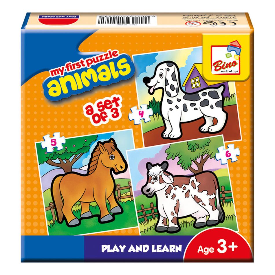 Bino První puzzle - Zvířátka