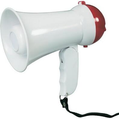 Conrad megafon mini bílá
