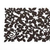 Běhoun plstěný hnědý, 100 x 30 cm