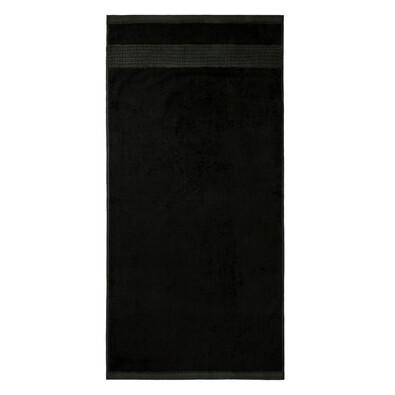 Prosop bambus Paris negru, 70 x 140 cm