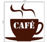 Samolepicí pěnová dekorace Café