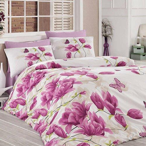 Tiptrade Bavlna obliečky Alize lila 220x200 2ks 70x90