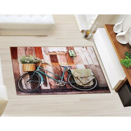 Bellatex Kusový koberec Bicykel 3D, 80 x 120 cm