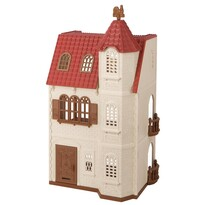 Sylvanian families 5400 dům s věží a červenou střechou