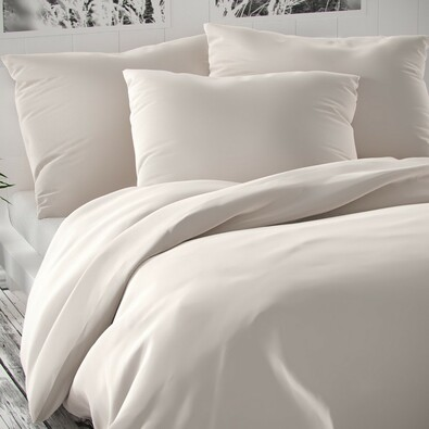 Luxury Collection szatén ágynemű, fehér, 140 x 220 cm, 70 x 90 cm