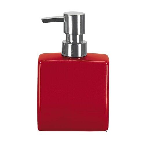 Dávkovač mýdla flakon, červený