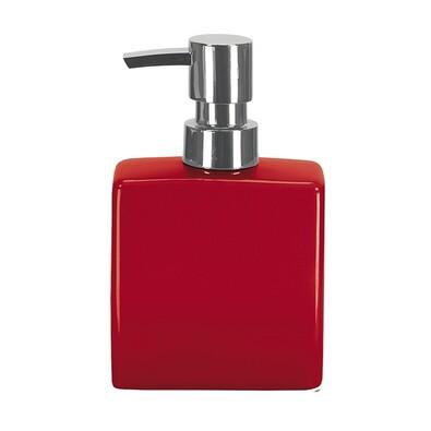 Dávkovač mýdla flakon červená