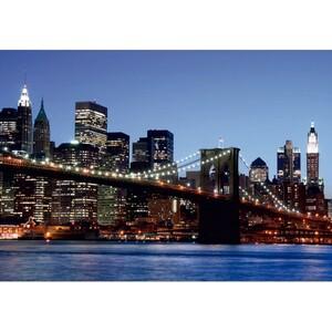 AG Art Fototapeta Brooklynský most 360 x 270 cm, 4 díly