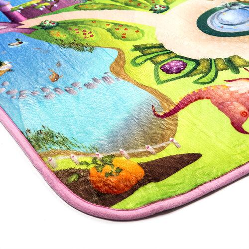 Dywan dla dzieci Ultra Soft Zamek, 130 x 190 cm