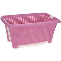 Koopman Koš na prádlo skládací 38 l, růžová
