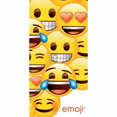 Osuška Emoji, 70 x 140 cm