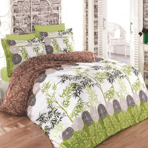 Ariatex Saténové obliečky Bamboo II., 240 x 220 cm, 2 ks 70 x 90 cm