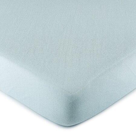 4Home jersey prestieradlo svetlo modrá, 180 x 200 cm