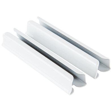 Deluxe fém síncsatlakozó, fehér, 5 cm, 2 db-os készlet